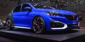 Peugeot 308 R 500hp Hybrid Concept : 2016 Geneva Motor Show