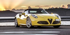2016 Alfa Romeo 4C Spider walkaround