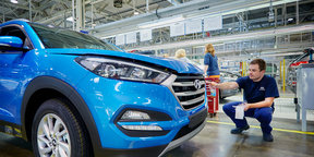 Hyundai Tucson: We build one from scratch in the Czech Republic