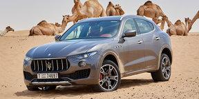 2017 Maserati Levante S review