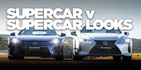 Lexus LC500 and Lexus LFA, side-by-side