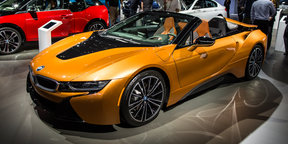 2018 BMW i8 Roadster revealed in Los Angeles