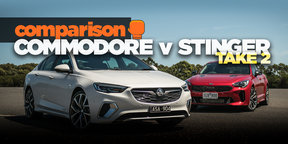 2018 Kia Stinger v 2018 Holden Commodore