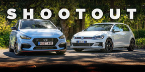 2018 Hyundai i30 N v VW Golf GTI Original 3-door: Full comparison