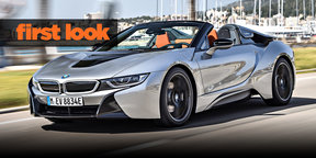 BMW i8 Roadster launch: First look