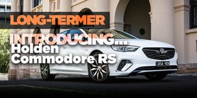 Long-termer: Introducing the 2018 Holden Commodore RS