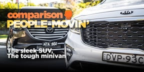 2018 Mazda CX-9 Azami v Kia Carnival Platinum comparison