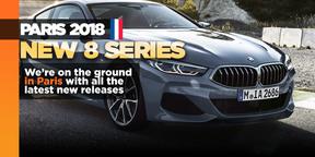 New BMW 8 Series makes Paris debut