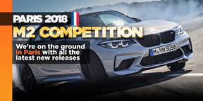 BMW's M2 Competition bows in Paris
