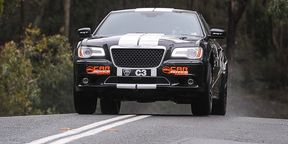 CarAdvice 300 SRT8 racer takes on Targa Adelaide