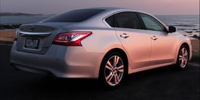 Nissan Altima Ti Tech Review