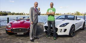Jaguar F-Type Roadster v Jaguar E-Type Roadster back-to-back