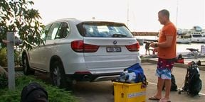 Driving, Diving and X5ing - BMW X5 Review