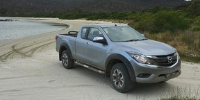 Tasmania Weekend Road Trip: Cockle Creek in the Mazda BT-50 — Australia