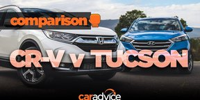 Comparison: 2018 Honda CR-V v Hyundai Tucson