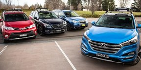2015 Medium SUV Comparison Review : Tucson, RAV4, CX-5, Forester