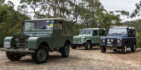 Land Rover Defender Old v New: Seven decades of Land Rover
