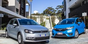 Honda Jazz v Volkswagen Polo comparison review