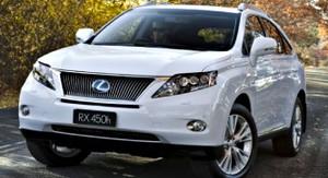 2012 Lexus RX450h
