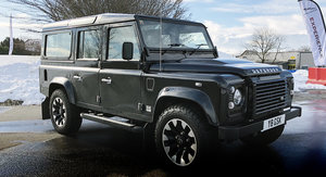 2018 Land Rover Defender V8 Works quick drive review