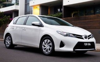2014 Toyota Corolla Ascent Review