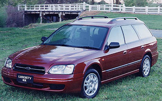 2000 SUBARU LIBERTY GX (AWD)