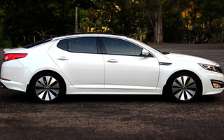Charming 2012 Kia Optima Platinum Review