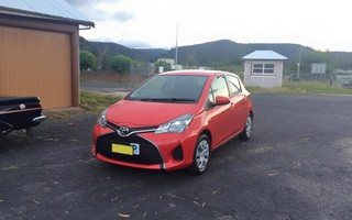 2014 Toyota Yaris Ascent Review