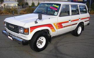 1986 Toyota Landcruiser (4x4) Review