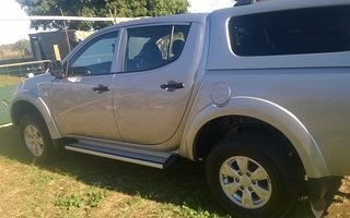 Mitsubishi triton 2013 review