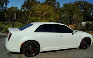 2016 Chrysler 300 SRT Hyperblack Review
