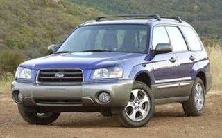 2003 Subaru Forester XS Luxury Review