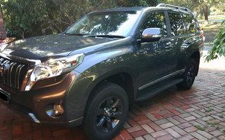 2015 Toyota Landcruiser Prado Altitude (4x4) review