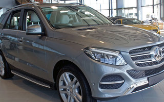 2015 Mercedes-Benz GLE 350d review