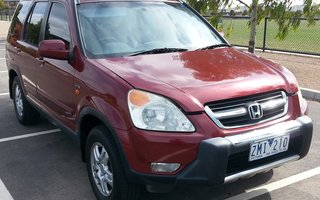 2003 Honda CR V (4x4) Sport Review