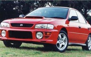 1999 Subaru Impreza WRX AWD Review