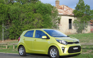 2017 Kia Picanto S review
