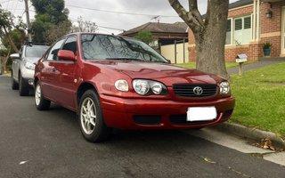 Elegant 2001 Toyota Corolla Conquest Seca Review