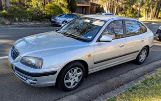 2005 Hyundai Elantra FX 2.0 HVT Review