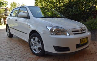 2006 toyota corolla ascent seca review caradvice
