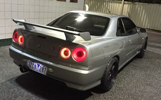 1990 Nissan SKYLINE Review