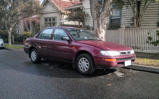 1999 Toyota Corolla Review
