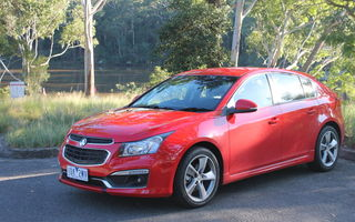 2015 Holden Cruze Review