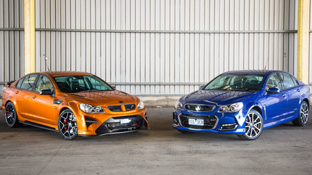 HSV GTSR W1 vs Holden Commodore SS — Is it worth the money?