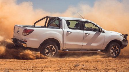 Mazda BT-50 tackles the Birdsville Track