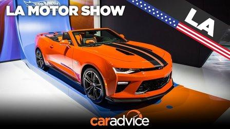 2018 Chevrolet Camaro: LA motor show