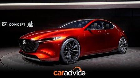 Mazda Kai Concept previews 2019 Mazda 3