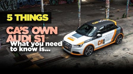 Cars We Own: 5 things to know about the Audi S1