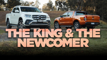 Ford Ranger Wildtrak v Mercedes-Benz X-Class