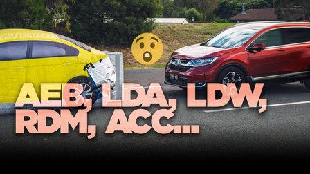 AEB, LDA, LKAS, LOLBBQ... Safety acronyms demystified